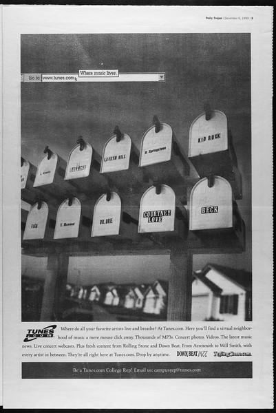 Daily Trojan, Vol. 138, No. 64, December 06, 1999