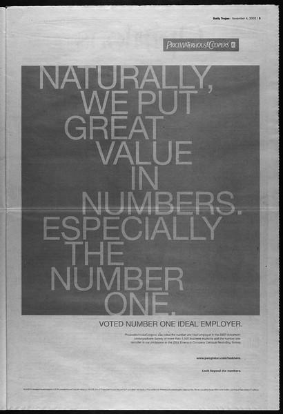 Daily Trojan, Vol. 147, No. 49, November 04, 2002