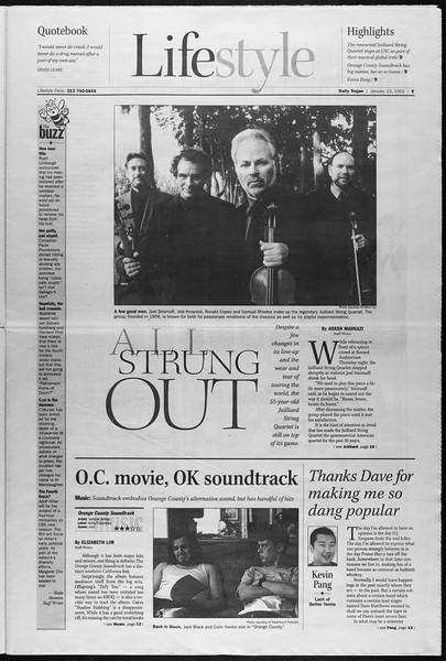 Daily Trojan, Vol. 145, No. 10, January 23, 2002