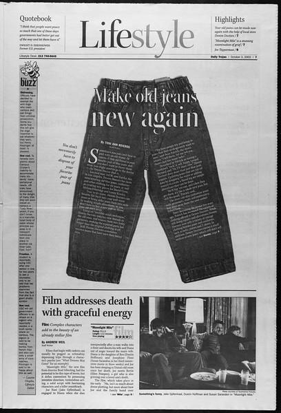 Daily Trojan, Vol. 147, No. 26, October 02, 2002