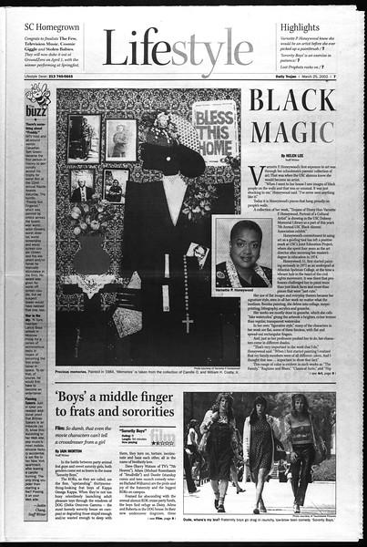 Daily Trojan, Vol. 145, No. 44, March 25, 2002
