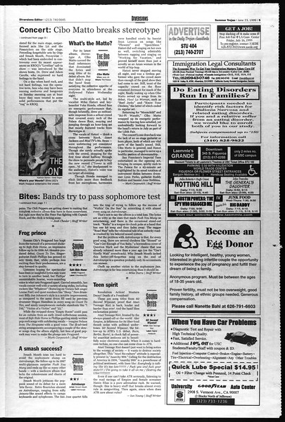 Summer Trojan, Vol. 141, No. 6, June 23, 1999