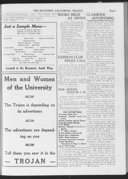 The Southern California Trojan, Vol. 7, No. 10, October 01, 1915