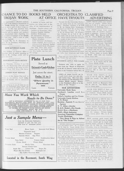 The Southern California Trojan, Vol. 7, No. 13, October 07, 1915