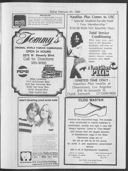 SoCal, Vol. 88, No. 14, February 25, 1980