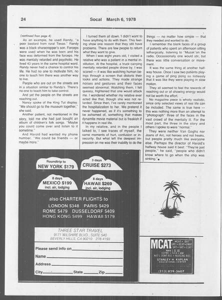 SoCal, Vol. 73, No. 18, March 06, 1978
