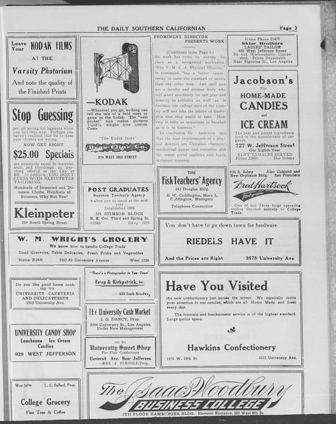 The Daily Southern Californian, Vol. 10, No. 48, May 15, 1913
