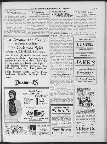 The Southern California Trojan, Vol. 7, No. 52, December 17, 1915