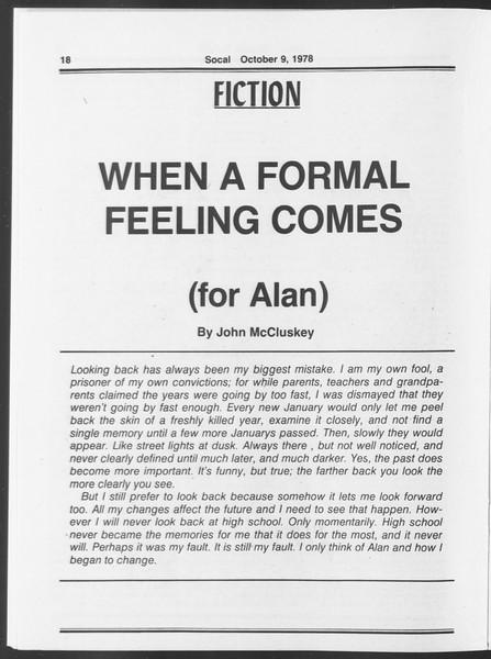 SoCal, Vol. 75, No. 15, October 09, 1978