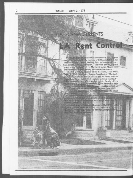 SoCal, Vol. 76, No. 36, April 02, 1979