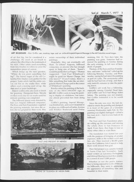 SoCal, Vol. 71, No. 18, March 07, 1977