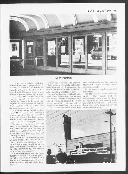 SoCal, Vol. 71, No. 55, May 09, 1977