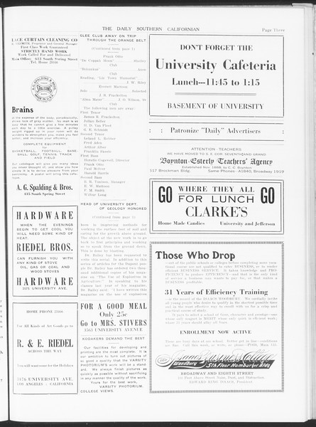 The Daily Southern Californian, Vol. 6, No. 1, February 05, 1915