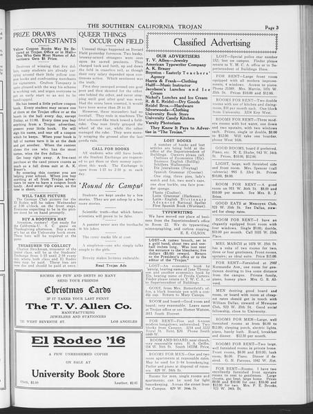 The Southern California Trojan, Vol. 7, No. 36, November 17, 1915
