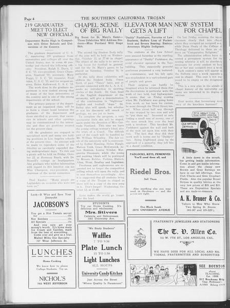 The Southern California Trojan, Vol. 7, No. 15, October 12, 1915