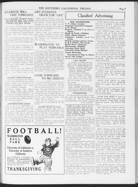 The Southern California Trojan, Vol. 7, No. 37, November 18, 1915