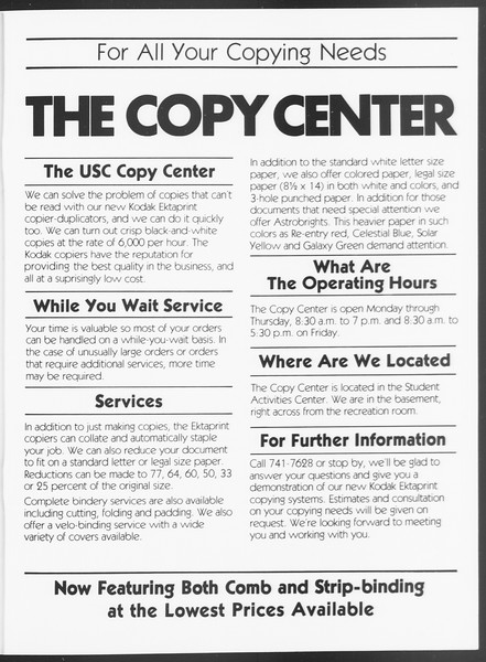 SoCal, Vol. 75, No. 36A, November 13, 1978