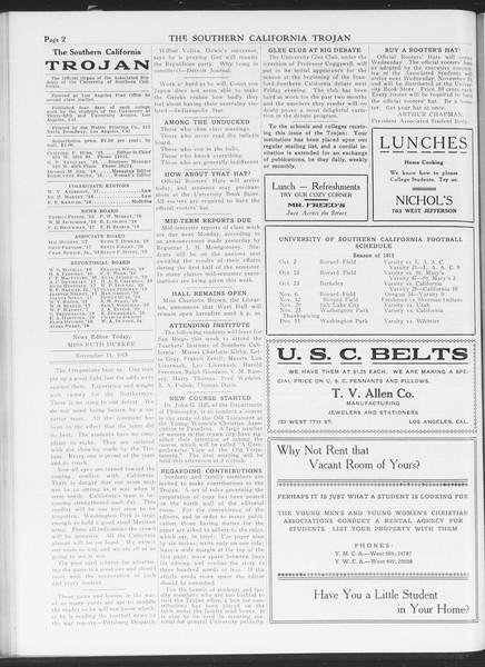 The Southern California Trojan, Vol. 7, No. 33, November 11, 1915
