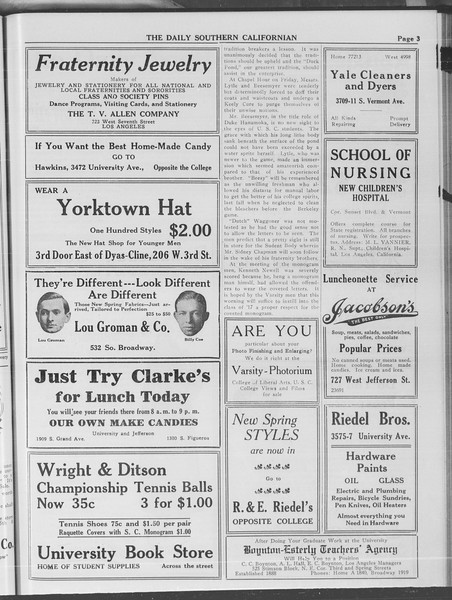 The Daily Southern Californian, Vol. 4, No. 9, February 24, 1914
