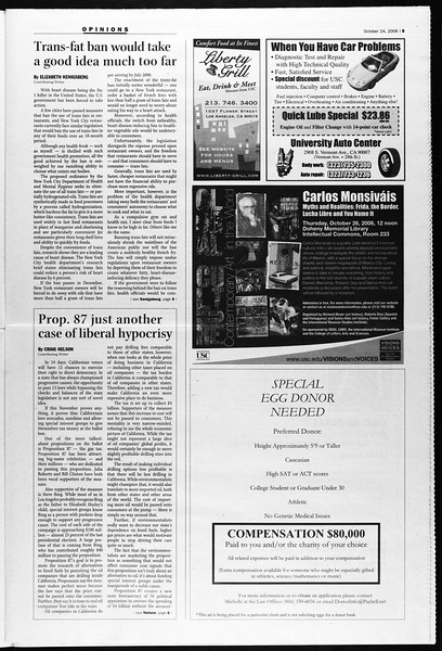 Daily Trojan, Vol. 159, No. 45, October 24, 2006
