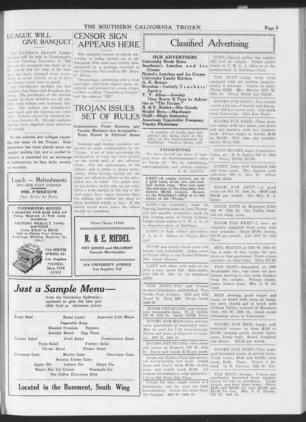 The Southern California Trojan, Vol. 7, No. 18, October 15, 1915