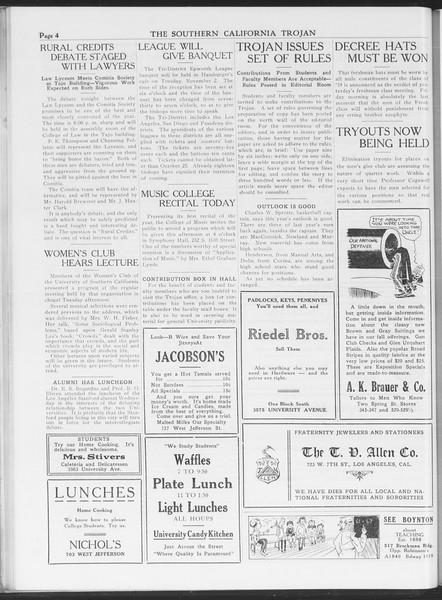 The Southern California Trojan, Vol. 7, No. 17, October 14, 1915