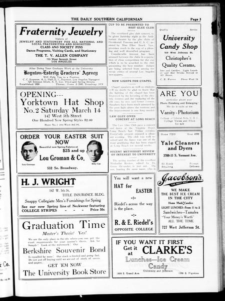 The Daily Southern Californian, Vol. 4, No. 29, April 08, 1914