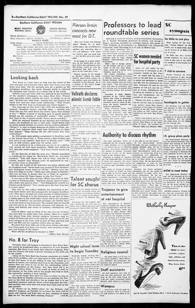 Daily Trojan, Vol. 36, No. 36, December 29, 1944