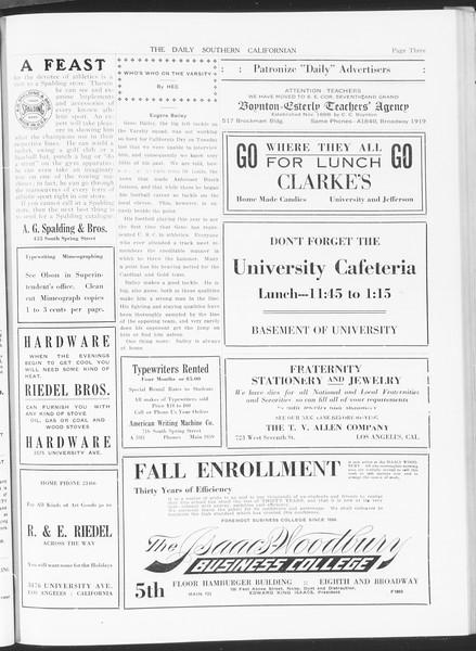The Daily Southern Californian, Vol. 5, No. 29, November 05, 1914