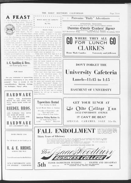 The Daily Southern Californian, Vol. 5, No. 33, November 12, 1914