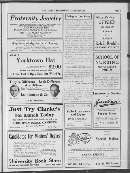 The Daily Southern Californian, Vol. 4, No. 14, March 04, 1914