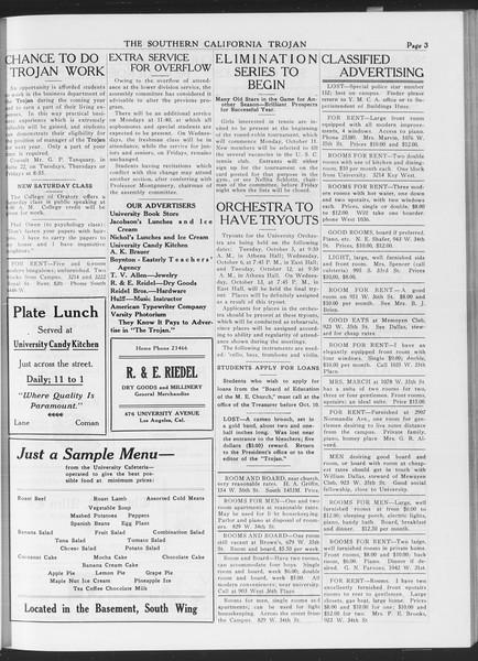 The Southern California Trojan, Vol. 7, No. 14, October 08, 1915