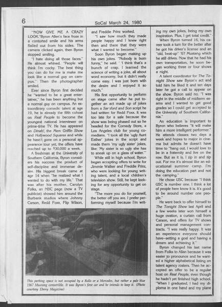 SoCal, Vol. 88, No. 53, April 28, 1980