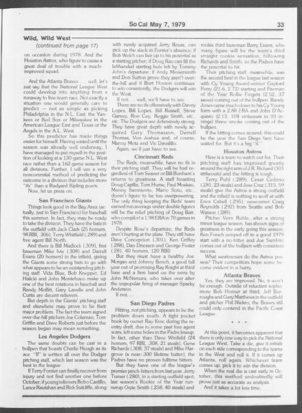 SoCal, Vol. 76, No. 54, May 07, 1979