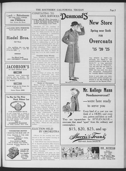 The Southern California Trojan, Vol. 7, No. 40, November 24, 1915