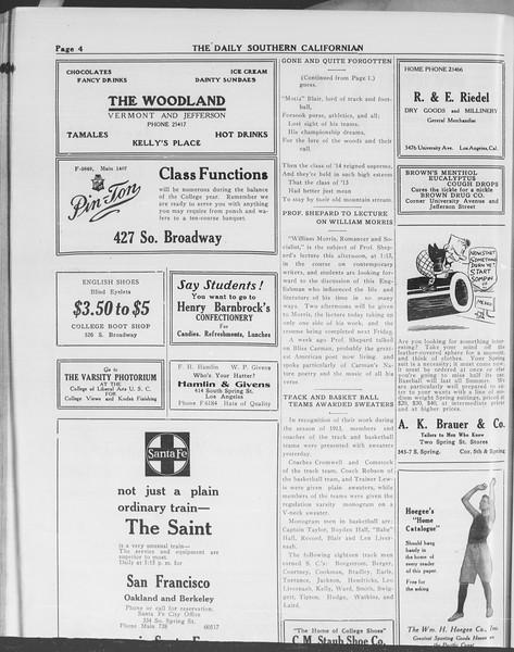 The Daily Southern Californian, Vol. 10, No. 41, May 02, 1913