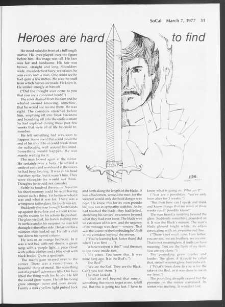 SoCal, Vol. 71, No. 18, March 07, 1977