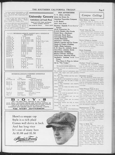 The Southern California Trojan, Vol. 7, No. 81, March 07, 1916