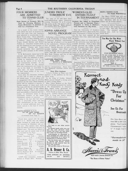 The Southern California Trojan, Vol. 7, No. 49, December 14, 1915