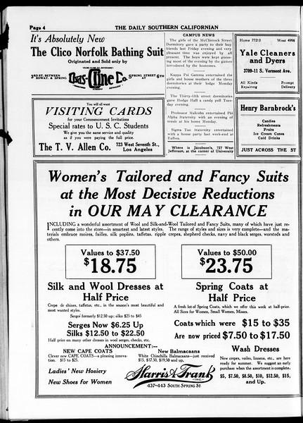 The Daily Southern Californian, Vol. 4, No. 48, May 21, 1914