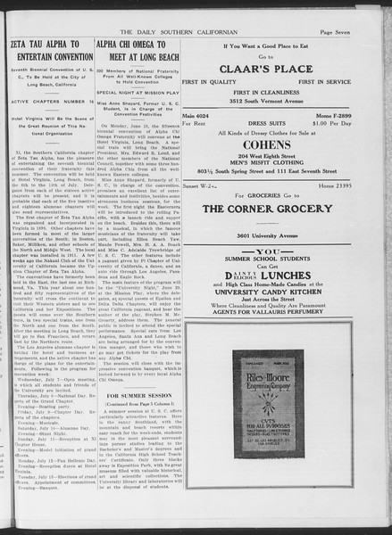 The Daily Southern Californian, Vol. 6, No. 29, June 10, 1915