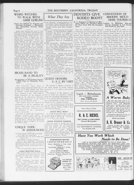 The Southern California Trojan, Vol. 7, No. 23, October 26, 1915