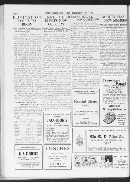 The Southern California Trojan, Vol. 7, No. 13, October 07, 1915