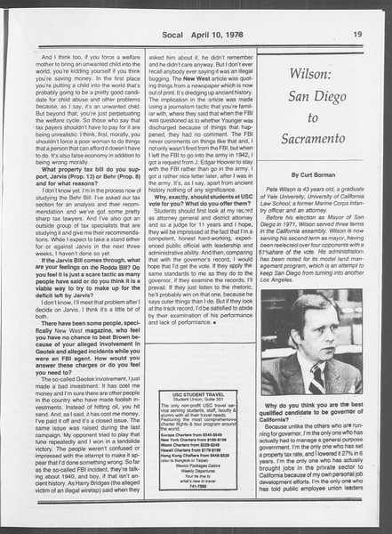 SoCal, Vol. 73, No. 36, April 10, 1978