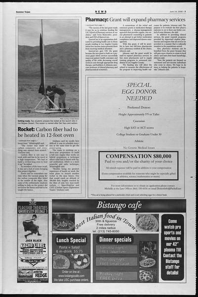 Summer Trojan, Vol. 158, No. 5, June 14, 2006
