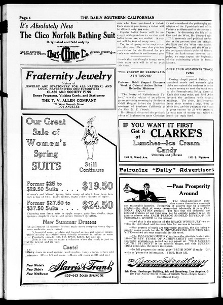 The Daily Southern Californian, Vol. 4, No. 36, April 21, 1914