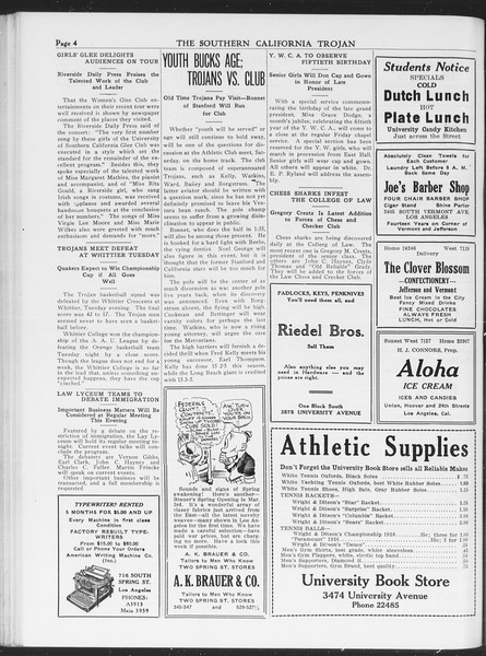 The Southern California Trojan, Vol. 7, No. 79, March 02, 1916