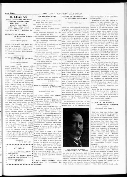 The Daily Southern Californian, Vol. 5, No. 12, October 06, 1914