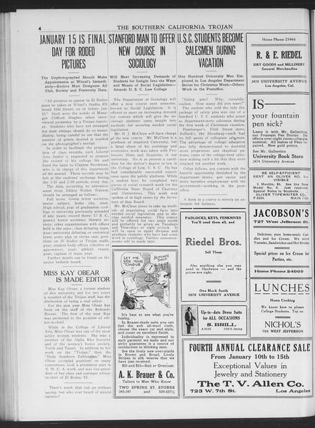 The Southern California Trojan, Vol. 7, No. 53, January 05, 1916