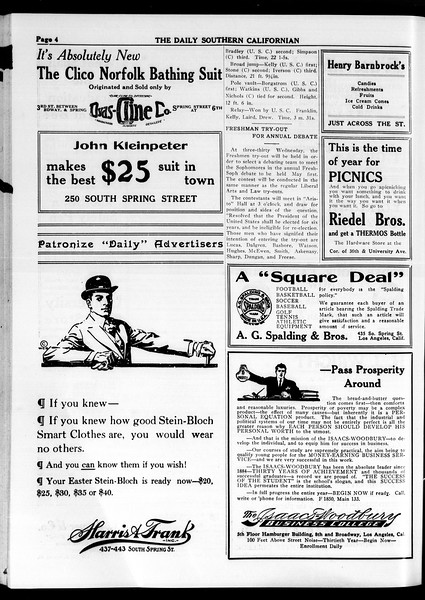 The Daily Southern Californian, Vol. 4, No. 28, April 07, 1914
